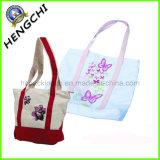 Cotton Canvas Handbag with Fashion Design