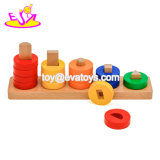 New Arrival Baby Wooden Stackable Toys for Education W13D205
