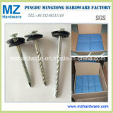 Umbrella Head Twisted Shank Roofing Nails with Rubber Washer