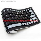 Flexible and Foldable Waterproof OEM Language USB Silicone Wireless Keyboard