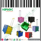 Collapsible Plastic Hand Foldable Cart with Handles