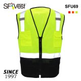 Color Cheap Warning Clothing Fabric Uniform Reflective Safety Vest Workwear