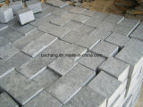 G654 Dark Grey Black Granite Cube Stone