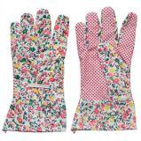 Cotton Glove Pink Wholesale Women Work Gloves