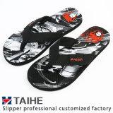 Customize Wholesale EVA Women Summer Flip Flops Beach Rubber Slippers