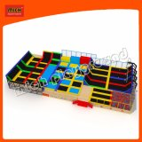 High Quality Wholesale Jumping Gymnastics Kids Indoor Trampoline Bed