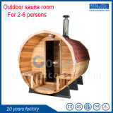 Outdoor Steam Sauna Room Barrel Sauna 20 Years Factory