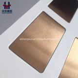 Brushed Satin Stainless Steel Decorative Sheet Gold Champagne Black Titanium Rose Gold