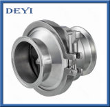 SS304 SS316L Sanitary Food Grade Check Non Return Valves