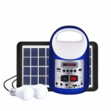 Bluetooth Music Player LED Lamp LED Bulb Solar Energy Panel Solar Lighting Home Solar Power Kits System
