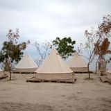 Four Season Luxury Outdoor Waterproof Family Camping and Winter Glamping Cotton Canvas Yurt Bell Tent