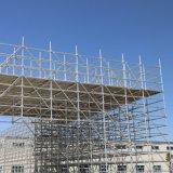 Q355b Steel Hot DIP Galvanized Standard Ringlock Scaffolding/Scaffold for Building/Tunnel/Bridge