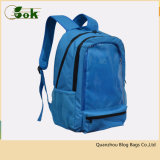 Best Polyester 600d PVC Blue Laptop Backpack for College Students