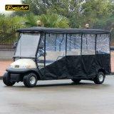 11 Seater Golf Cart Mini Electric Car with Rain Curtain