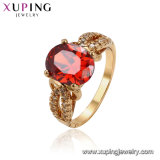11442 Xuping Women Luxury 18K Gold-Plated Imitation Jewelry Ring in Copper Alloy