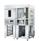 Professional Bakery Combined Ovens with Retarder Proofer and Rack and Deck Oven Used in The Store