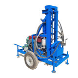 22HP Diesel Deep Water Well Drilling Machine 100m Hydraulic Mine Drilling Rig Hole Borehole Drill Machines for Sale