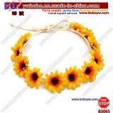 Hippies Set Accessories Chrysanthemum Headband Hippie Wreath for Beauty (B3065)