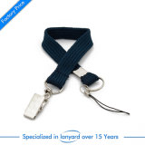 Custom Characteristic Polyester Tubular Lanyard Leather Velcro Screen Printed Nylon PP