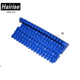 Hairise Food Grade Blue Perforated Flat Modular Belt with ISO