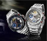 Fashionable UK Style Luxurious Stainless Steel Watch