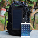 Wholesale Hot Selling 2016 New Solar Panel Backpack Solar Power Bank for Mobile Phones iPhone Laptop (SB-168)