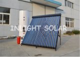 Split Pressure Heat Pipe Solar Heating System for Heating