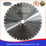 600mm Wall Saw Diamond Blade for Heavy Reinforced Concrete Cutting