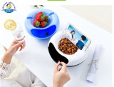 Dehuan Nutshell Nut Fruits Plate 100% PP Plastic Material