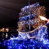 LED Light Flower Lamp Pole Mounted Christmas/Festival/Home Lights Decoration LED Motif Light