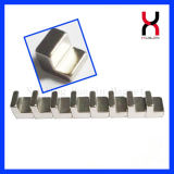 Strong Permanent L Shape NdFeB Irregular Magnet