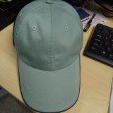 Unconstructed Cotton 6 Panel Light Green Plain Baseball Cap Hat