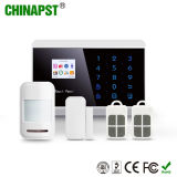 French, Spanish, Russian Security Wireless GSM Home Alarm Systems (PST-PG992TQ)