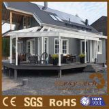 Guangdong Composite WPC Heat Proof Flat Deck with Realistic Texture