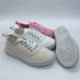High-Top Washed Canvas Casual Skate Kids Shoes for Girls