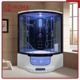 WOMA 1350*1350*2350mm Tempered Glass Sliding Door Steam Sauna Shower Room (Y801B)