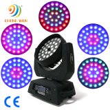 DMX Stage Light 36*12W RGBW 4in1 LED Beam Moving Head Zoom Wash Light