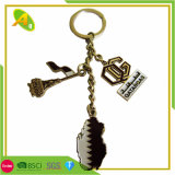 Free Sample Promotion Wholesale Customized Qatar UAE National Day Metal Souvenir Gift Keychain (208)