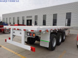 Best Quality 60 Ton 45FT 3 Axle Flatbed Truck Trailer for Container Transportation