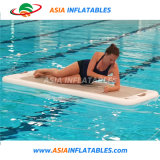 Inflatable Jet Ski Dock Floating on The Water