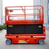 Self Propelled Electric Mobile Cargo Elevator Scissor Lift Hydraulic Aerial Platform Car Lift Two Post Lifting Equipment