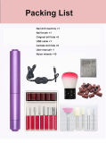 for Beginner DIY Manicure or Pedicure Tool Low Vibration Electric Nail Drill