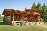 Magnificent Log House Prefabricated Wooden House Factory for Sale