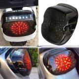 Motorcycle Driving Lights for Harley Davidson Sportster Glides Road Glides 2002-2010 Dynas License Plate Light