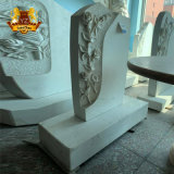 Solemn Hand Made Eternal Memorial Grave Yard Marble Tomb Stone