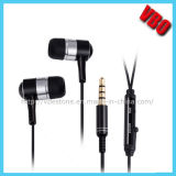High End Metal Earphone with Mic (10A13-IP)