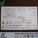 Permanent Outdoor Glossy Clear Full Color Electrical Device Safety Warning Labels