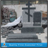 G654 Padang Dark Granite Cross Memorial Monuments
