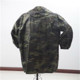 Best Price 190t Camouflage Long Raincoat for Men