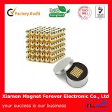 Golden Magnet Ball / Magnetic Ball / Bucky Ball for Intellectual Toy
